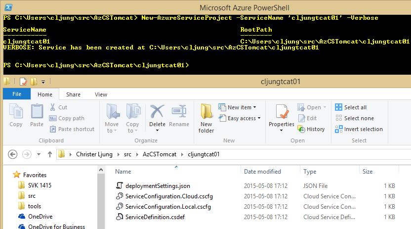 New-AzureServiceProject_run