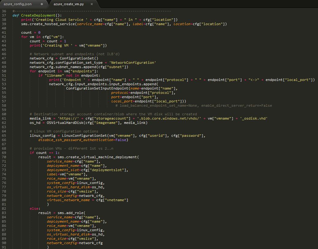 Using Python for Azure automated provisioning | redbaron of