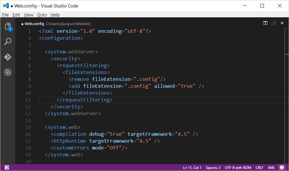 reqFiltering-C-Web.Config