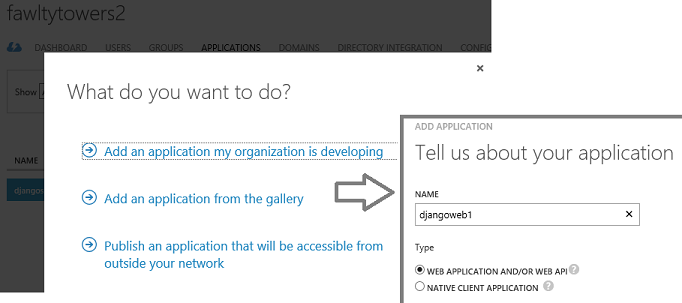 Azure AD for an Open Source based Website – part 1 – Python
