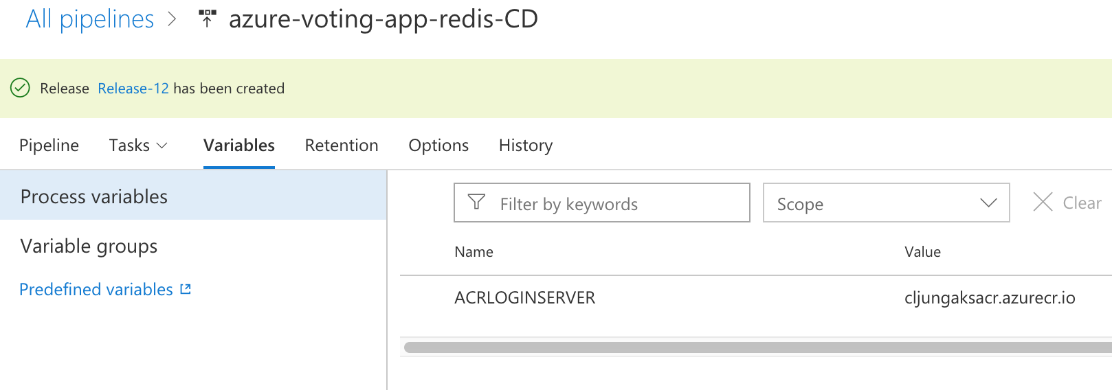 6b – VSTS Release and Azure Kubernetes Service   redbaron of
