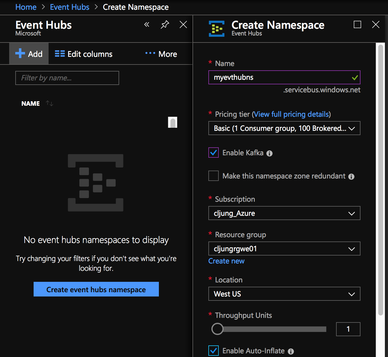 Hook up your Apache Kafka applications to Azure EventHub