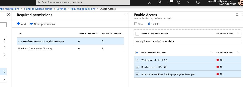 Azure AD authorization for a Python REST API Resource Server